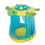 Unbekannt VARILANDO® Kinder-Planschbecken Kinder-Pool in Form einer Schildkröte 109x96x104 cm Sicherheitsventile