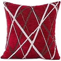 HUHU833 Cushion Cover, 45cm*45cm Stylish Simplicity Polyester Sofa Throw Pillow Case Home Decor