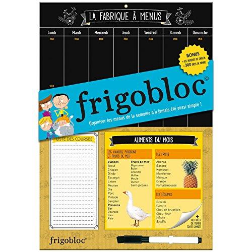 Frigobloc - La Fabrique  menus