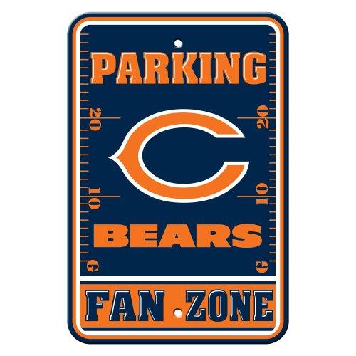 Fremont Die NFL Chicago Bears Parkschilder aus Kunststoff