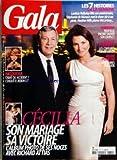 GALA [No 772] du 26/03/2008 - CECILIA - SON MARIAGE - SA VICTOIRE - RICHARD ATTIAS - KATOUCHA - CRIME OU ACCIDENT - MADONNA ET SON COUPLE - BEAUTE POUR ELLE - MODE POUR LUI - LES 7 HISTOIRES DE LA SEMAINE - LAETICIA HALLYDAY FETE SON ANNIVERSAIRE - STEPHANIE DE MONACO MET LE SHOW-BIZ A SES PIEDS - HEATHER MILLS PLUME MCCARTNEY