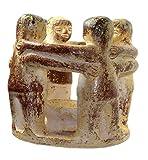 budawi® - Freundeskreis mit 4 Freunden extra groß Ø ca. 20 cm, Kreis der Freundschaft aus Ton