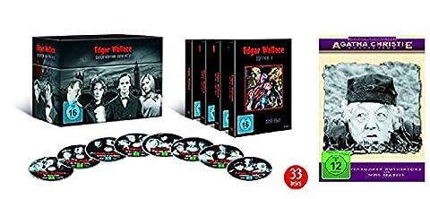 Edgar Wallace Box Gesamtedition Komplettbox (1959-1972) [33 DVDs] + Miss Marple Box Set [4 DVDs] (Miss Marple Margaret Rutherford Dvd)