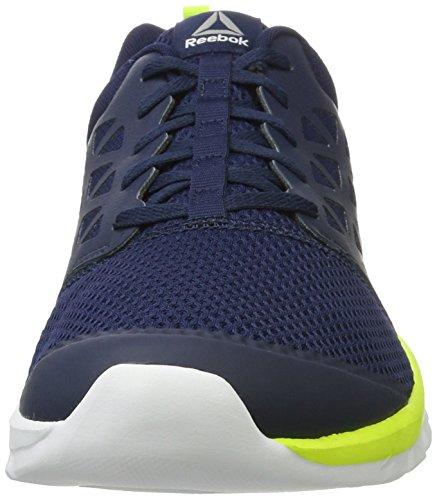 Reebok Herren Bd5534 Trail Runnins Sneakers Blau (Collegiate Navy/solar Yellow/white/pewter)