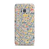 artboxONE Samsung Galaxy S8 Plus Premium-Case Handyhülle Vianina Amsterdam Stadtplan von vianina