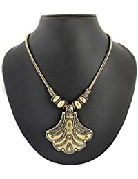 Archiecs Creations Gold Plated Strand Necklace For Women (Handi_174)