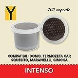 INTENSO - Intensità 10 Creata per soddisfare gli amanti del vero espresso alla napoletana dal gusto intenso e piacevolmente amaro, sviluppa sentori di cioccolato e una crema persistente.