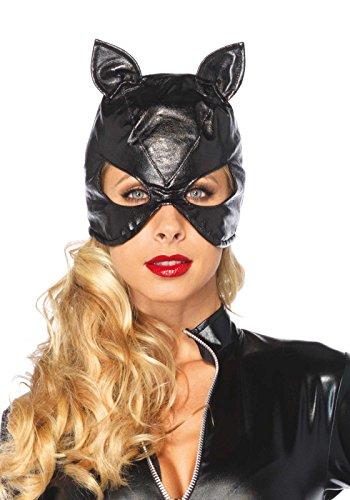Leg Avenue 2625 - Bondage Cat Maske, Einheitsgröße, Damen Karneval Kostüm ()