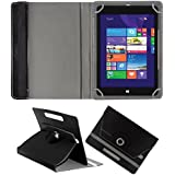 Fastway 360 Degree Rotating Tablet Book Cover Alcatel A3 10 16 GB 10.1 inch with Wi-Fi+4G Black