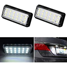 PolarLander Car Styling No Error LED Blanco Luz Trasera de matrícula Auto Lamp para T-