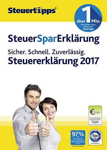 Akademische Steuer Spar Erklärung 2018 für Steuerjahr 2017 (FFP)