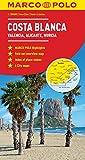 Costa Blanca Marco Polo Map (Marco Polo Maps) [Idioma Inglés]
