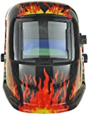 Expert Weld XWH5 9-13 Shades Hot Auto Darkening Welding Helmet Plus Grind Function