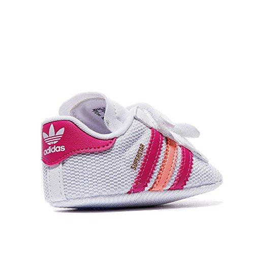 Sneaker Originals Crib 2 Krabbel Schuhe Baby Weiss Superstar Adidas Ov8nwm0N