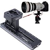 iShoot Lens Support Halsband Fuß Stativanschluss Ring Standfuß + Kamera Schnellwechselplatte für Canon EF 300mm f/2.8L IS II USM, EF 200-400mm f/4L IS USM EXTENDER 1.4x, EF 400mm f/2.8L IS II USM, EF 500mm f/4L IS II USM, EF 600mm f/4L IS II USM, EF 800mm f/5.6L IS USM