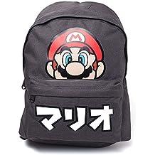 Nintendo Mochila de a diario, Negro (Negro) - BIO-BP735360NTN