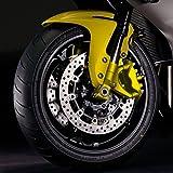 Hochtemperaturlack, Lackspray für Bremse, Auspuff, Bremssattel, bis 260°C, 400ml gelb