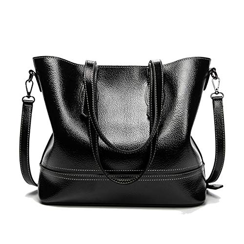 NIYUTA Damenhandtaschen mode große Schultertaschen weich leder Shopper Umhängetaschen - Krokodil Geprägtes Leder Handtasche