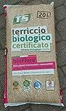 Zertifizierter Bio-Blumenerde für Pflanzen und essbare