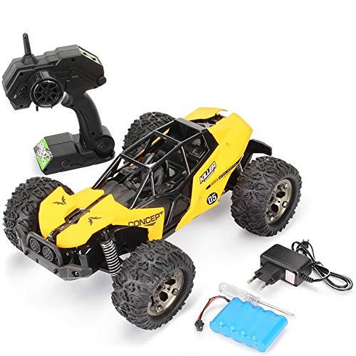 TTGE 1:12 Off-Road-Ferngesteuertes Auto Wiederaufladbares Kletterauto Kinderspielzeug,Yellow