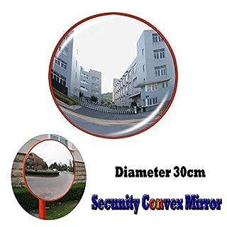 Spiegel, konvex, 30 cm Durchmesser, für Straßensicherheit, für tote Winkel, Spiegel