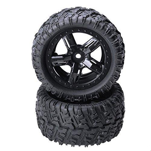 Quickbuying Remo 1/16P6973montaggio pneumatici di gomma per Desert Buggy Truck