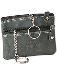 Woodland - Bolsillo-doble llave con un gran bolsillo extra para las llaves del coche de los aficionados no tratados
