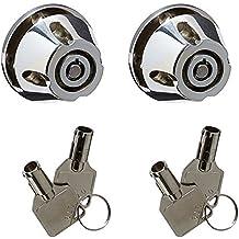 Kuryakyn 6248 Grip End Helmet Lock by Kuryakyn
