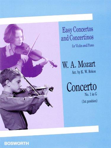 Concerto N°1 en Sol Maj. - Violon