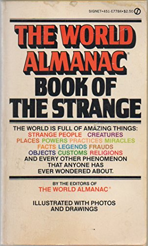 Title: The World Almanac Book of the Strange