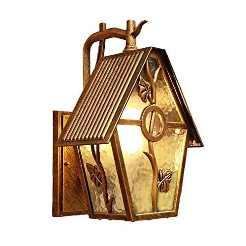 Pn&cc Weinlese-Im Freienhof-Balkon-Wandlampe, Haus-Dekoration Kann Im Weinkeller - Zaun - Tür - Terrasse Oder Eingang Benutzt Werden