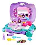 #6: Toyshine Briefcase Cum Trolley Beauty Set, Pretend Play Set Toy, Small Size