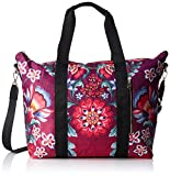 Desigual Gala Philadelphia Shoulder Bag FucsiaDati:o Materiale: 100% poliestereo Dimensioni: Larghezza circa 38 cm, altezza circa 35 cm, profondità circa 17 cmo Colore: Fucsia (rosa / blu / verde)o Fabbricante: Desigual