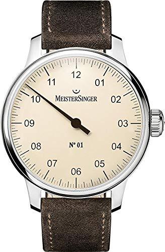 MeisterSinger N°01 - 40mm - DM303 Montre avec une seule aiguille