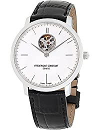 Frederique Constant Men's Analogue Automatic Watch with Leather Strap FC-312S4S6