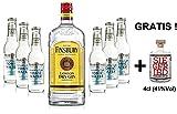 Gin Tonic Set - Finsbury London Dry Gin 70cl (37,5% Vol) + 6x Fever Tree Naturally Light Tonic Water 200ml + Siegfried Gin mini 4cl (41% Vol)