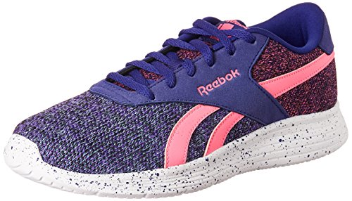 Reebok Classics Women's Royal Ec Ride Fs Purple, Pink, Blue, Black and White Sneakers – 6 UK/India (39 EU) (8.5 US) 51kcHvD9XlL