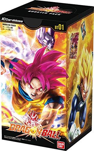 IC Cardass Dragon Ball First Edition Booster Pack [BT01] (BOX) [Langue Japonaise]