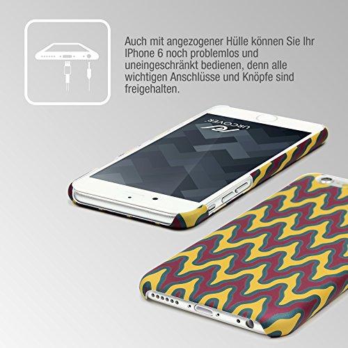 Urcover® Apple iPhone 6 / 6s Trend Edition Back-Case Handy Schutz-Hülle PC im Mandala Design Cover Schale Smartphone Zubehör Handyschutz Muster 8
