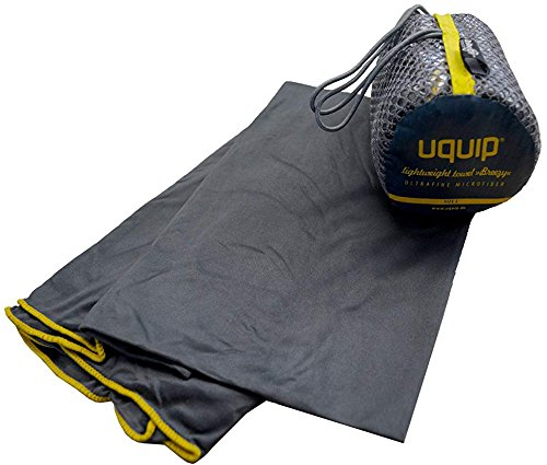 Uquip Microfaser Handtuch Breezy L - Saugfähig, leicht, antibakteriell - 60 x 120cm