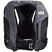 Helly Hansen Inflatable Racing - Chaleco unisex, color negro, talla única