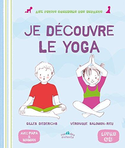 Mon premier livre de yoga (1CD audio) par Gilles Diederichs, Véronique Salomon-Rieu