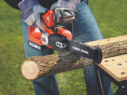 BLACK AND DECKER GKC1820L 18v Li-Ion Cordless Chainsaw – Orange
