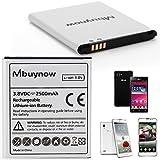 Mbuynow Batería BL-53QH 2500mAh Li-ion Batería de Reemplazo Recargable de Alta Eficiencia para LG Optimus 4X HD / LG Optimus L9, P760, P768, P769, P765 / LG Optimus P875 F5