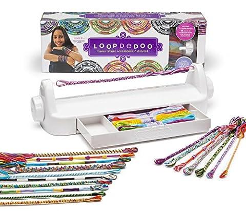 Loopdedoo Lueeaa rotatifs Loom Kit bracelet de l