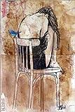 Posterlounge Alu Dibond 100 x 150 cm: Ein Wenig Hoffnung von Loui Jover