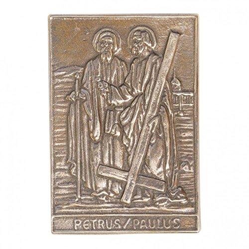 "BUTZON & BERCKER 153048 NAMENSTAGSPLAKETTE ""Petrus & Paulus"" 8x6 cm"