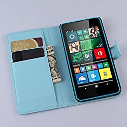 Manyip Coque Microsoft Nokia Lumia 640, Téléphone Coque - PU Cuir Rabat Wallet Housse [Porte-Cartes] Multi-Usage Case Coque pour Microsoft Nokia Lumia 640,Classique Mode Affaires Style(JFC7-2)