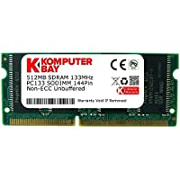 Komputerbay 512MB SDRAM SODIMM (144 Pin) 133Mhz PC133 RAM für Brother-Drucker