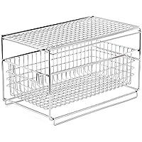 EZOWare Estante con Cajón Organizador y Almacenamiento del Mueble Debajo Fregadero Lavabo para Cocina Baño Habitaciones